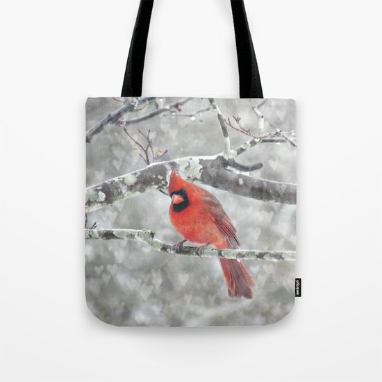 Color My Winter Tote Bag