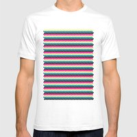 CMYK Mens Fitted Tee White SMALL