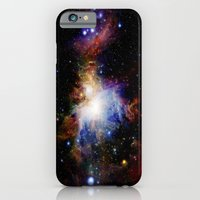 nebula iPhone & iPod Cases featuring Orion NebulA Colorful Full Image by 2sweet4words Designs