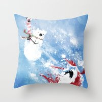 Christmas Time!! Throw Pillow