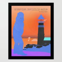 International Cryptozoology Museum  Art Print
