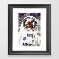 A Trip To Planet X Framed Art Print