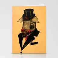 Mr. P I G Stationery Cards