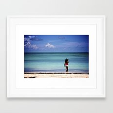 paradise Framed Art Print