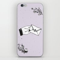 Snail Mail Love iPhone & iPod Skin