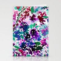La Flor Plum Stationery Cards