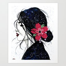 Kinuko Art Print