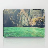 a little touch of paradise iPad Case