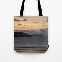 Evening Skies Over Polze… Tote Bag
