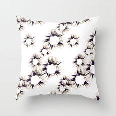 Lace Flower Throw Pillow