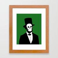 Ol Abe Framed Art Print