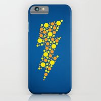 iPhone & iPod Case featuring Lightning by Danielle Podeszek