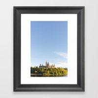 Parliament Hill  Framed Art Print