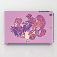 Purple Paisley Peacock iPad Case