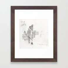 View from MoMA, NYC Framed Art Print