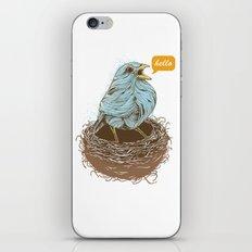 Twisty Bird iPhone & iPod Skin