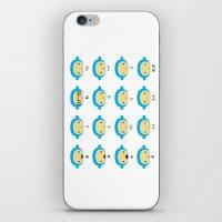 Emoticonal Monkey iPhone & iPod Skin