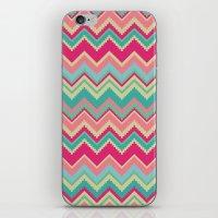 Aztec Chevron Pattern- P… iPhone & iPod Skin