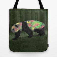 Panda Night Tote Bag