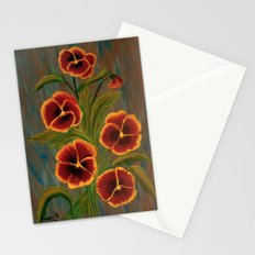 Pansies-2 Stationery Cards