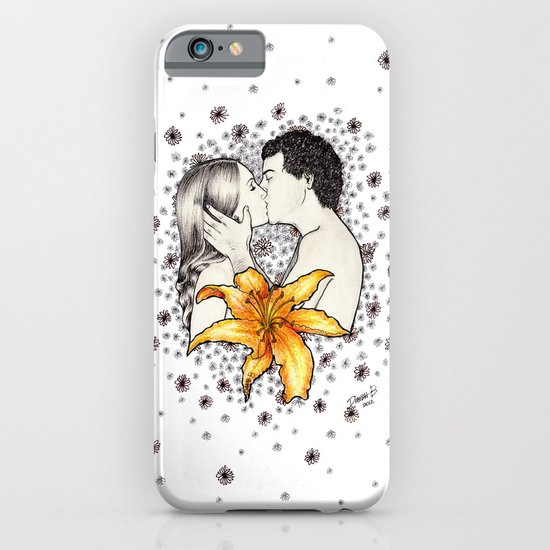 Love is like a Flower... iPhone & iPod Case
