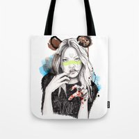 Griz Tote Bag
