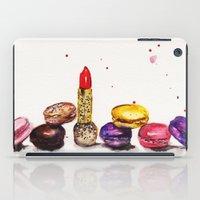 Lipstick and Macaroon's  iPad Case