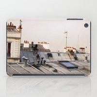 Paris Rooftop #1 iPad Case