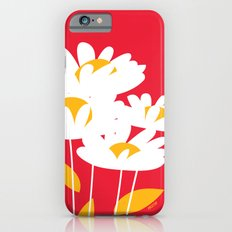 Flowers on Red by Friztin Slim Case iPhone 6s