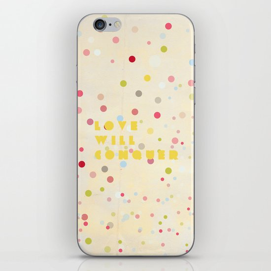Love will conquer iPhone & iPod Skin