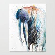 Walrus Canvas Print