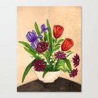 Flowers/still life  Canvas Print