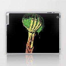 Zombie Skeleton Brain Vintage Laptop & iPad Skin