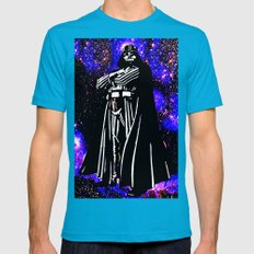Vader  Mens Fitted Tee Teal SMALL