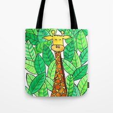 Watercolor Giraffe Tote Bag