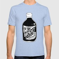 Don't Be Stupid Elixir Mens Fitted Tee Tri-Blue SMALL