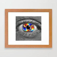 Window to the Multiverse Framed Art Print