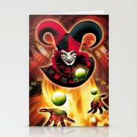 Poster Cirkus Stationery Cards