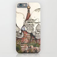 iPhone & iPod Case featuring Moscow II by RiversAreDeep