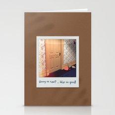 Doog os saw? … Was so good! Stationery Cards