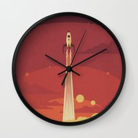 Atomic Sky Wall Clock