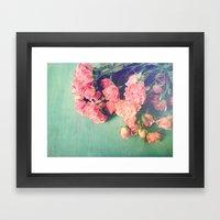 Garden Party Framed Art Print