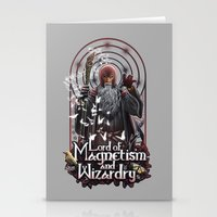 Lord Of MAgnetism And Wi… Stationery Cards