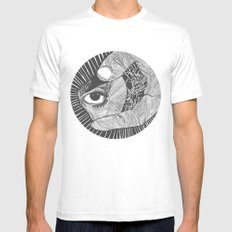 un œil andalou SMALL White Mens Fitted Tee