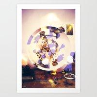 Roses Room Art Print