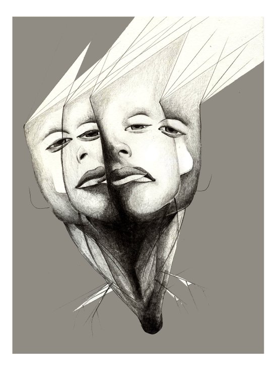 Double Feature Art Print