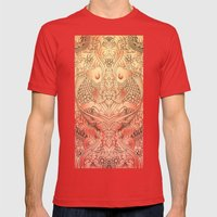 Koi Mens Fitted Tee Red SMALL