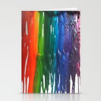 Crayons Stationery Cards