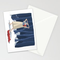 young hero Stationery Cards
