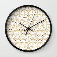 Geometric Diamond Repeat… Wall Clock